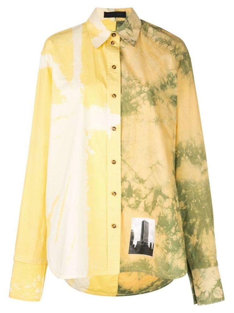 Proenza Schouler Tie Dye Shirt - Yellow
