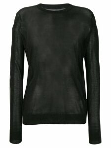Maison Margiela sheer jumper - Black