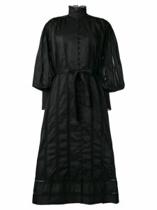 Zimmermann lace smock dress - Black