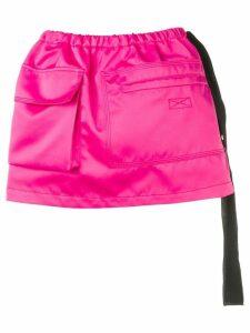 Nº21 apron skirt - Pink
