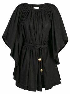 Lisa Marie Fernandez Angel belted dress - Black