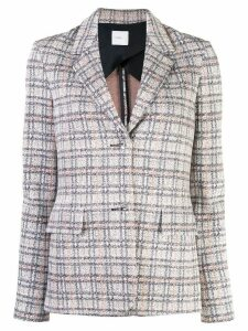 Rosetta Getty checked single-breasted blazer - Multicolour