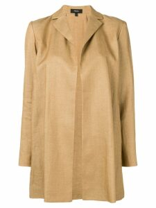 Theory oversized fit jacket - Neutrals