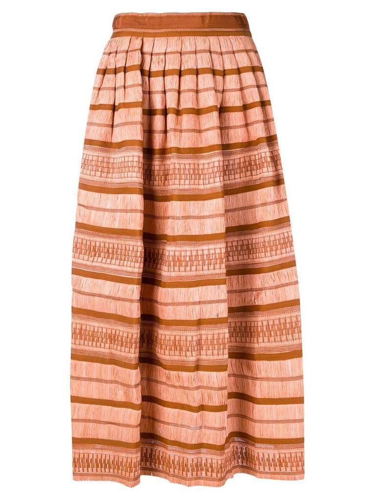 Ulla Johnson panelled maxi skirt - Pink
