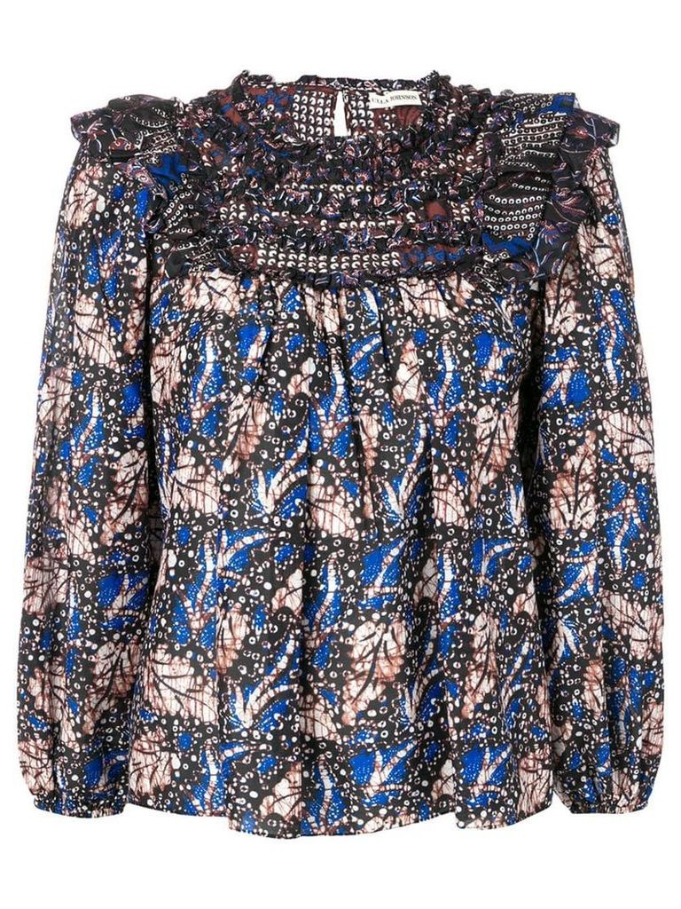 Ulla Johnson Dalma print blouse - Blue