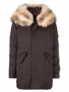 Mr & Mrs Italy waterproof parka coat - Brown