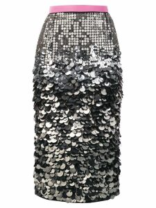 Nº21 sequin pencil skirt - Pink
