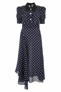Alessandra Rich Polka Dots Dress