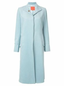 Manning Cartell classic single breasted coat - Blue