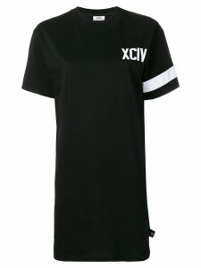 Gcds logo T-shirt dress - Black