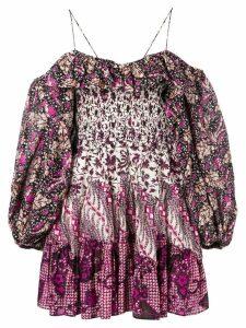 Ulla Johnson Jira mini dress - Pink