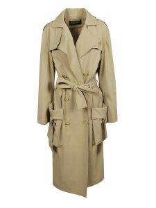 Balmain Double Breasted Trench