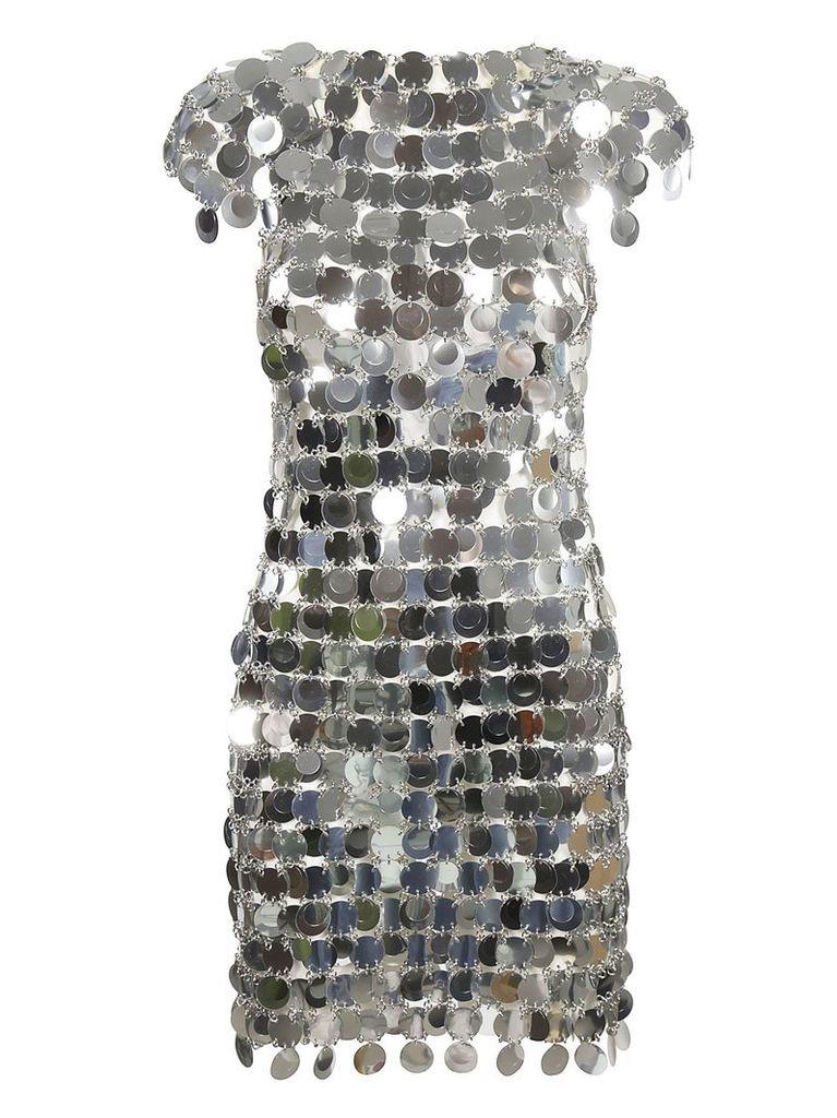 Paco Rabanne Paillettes Midi Dress