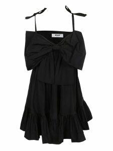 MSGM Flared Midi Dress