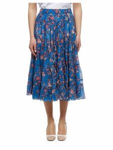 Isabel Marant étoile High Waist Floral Skirt
