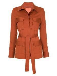 Manning Cartell belted blazer - Brown