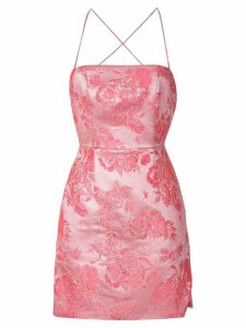 Manning Cartell metallic Kyoto Calling mini dress - Pink