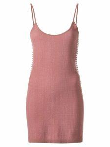Nagnata retro stripe mini dress - Pink