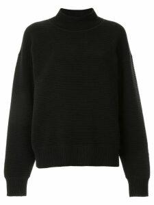 Nagnata ribbed knit turtleneck jumper - Black