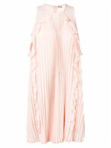 Liu Jo plisse sleeveless mini dress - Pink