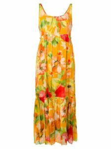 Twin-Set floral print dress - Yellow