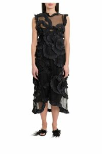Moncler Genius Tulle Dress By Simone Rocha
