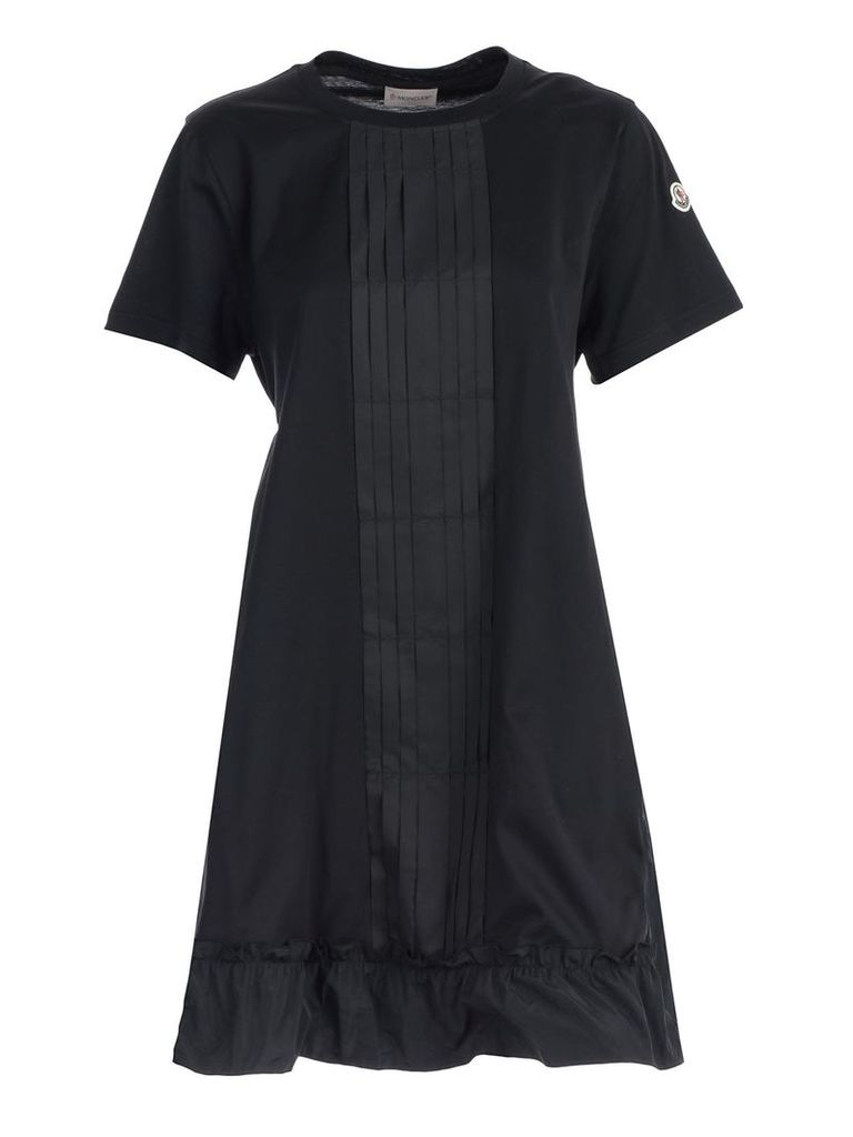 Moncler Logo Patch Dress