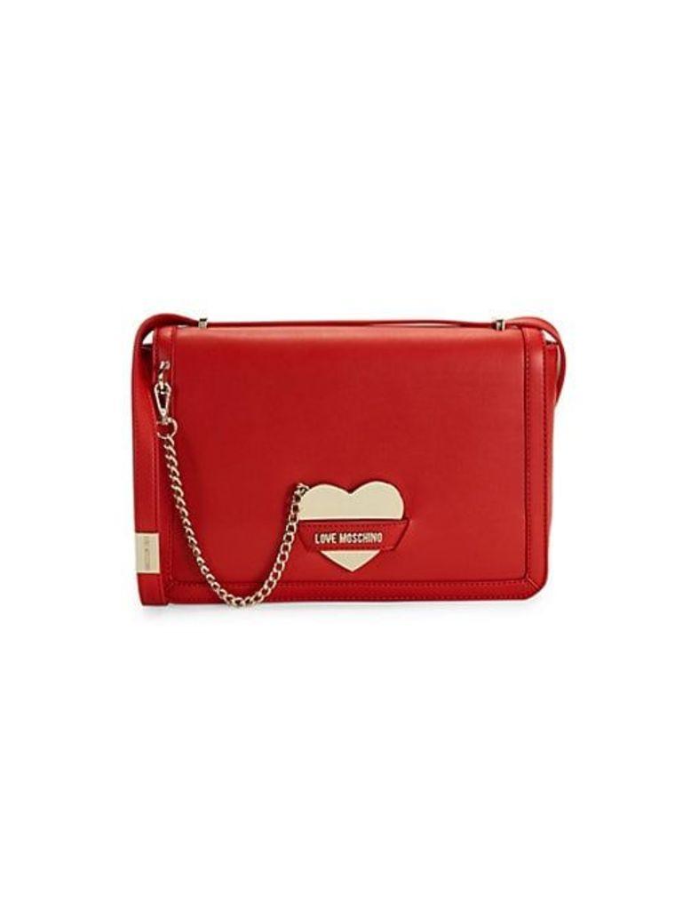 Heart Mirror Shoulder Bag