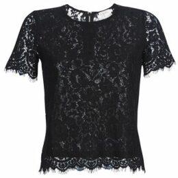 Moony Mood  KEMI  women's Blouse in Black