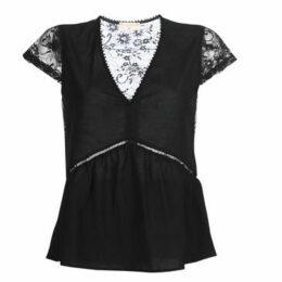 Moony Mood  KURITE  women's Blouse in Black