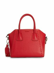 Minimi Leather Top Handle Satchel