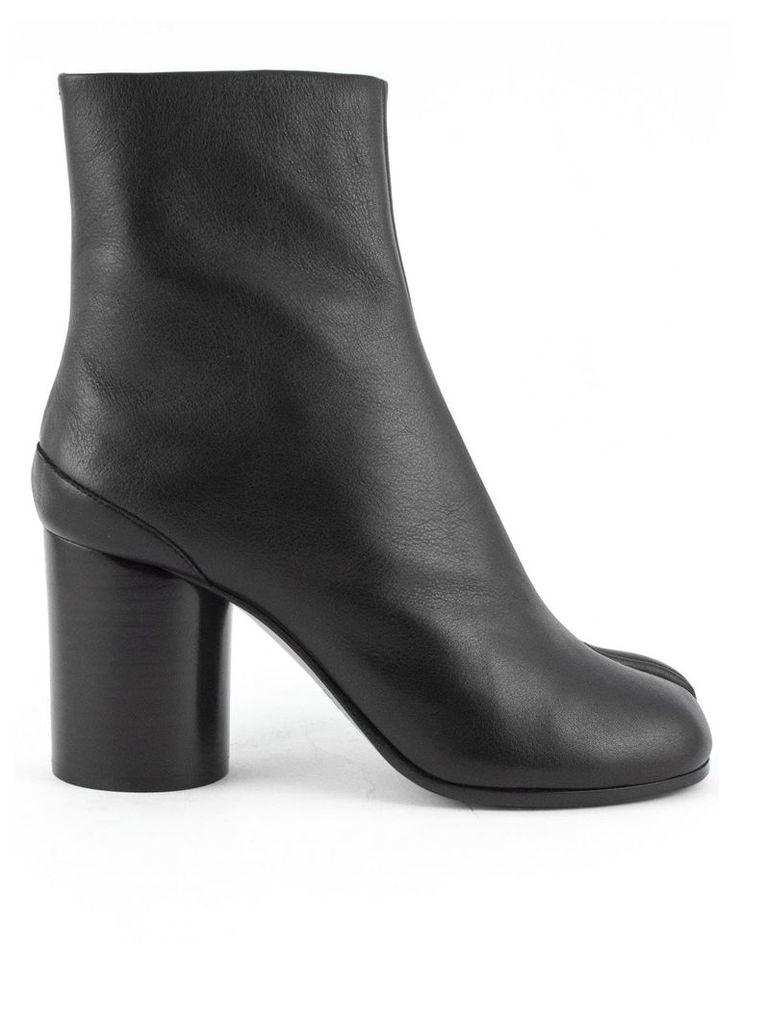 Maison Margiela Black Calfskin Tabi Boots