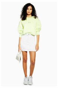 Womens White Joni Skirt - White, White