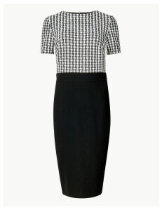 M&S Collection Gingham Bodycon Dress