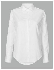 Autograph Pure Cotton Self Stripe Shirt