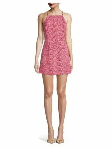 Printed Mini A-Line Dress