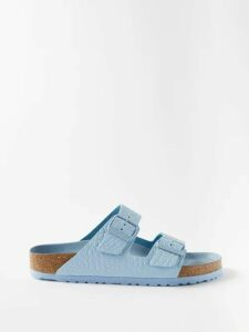 Erdem - Claudina High Rise Floral Lace Midi Skirt - Womens - Green Multi