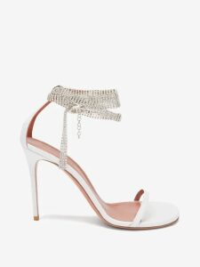 Valentino - Pleated High Rise Cotton Blend Wrap Skirt - Womens - Red