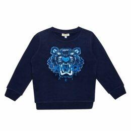 Kenzo Blue Tiger Sweatshirt