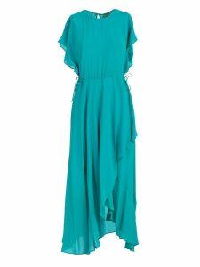 TwinSet Asymmetric Long Dress