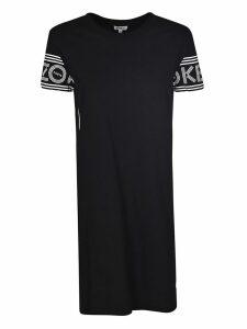 Kenzo Logo Sleeve Dress