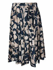 S Max Mara Printed Skirt