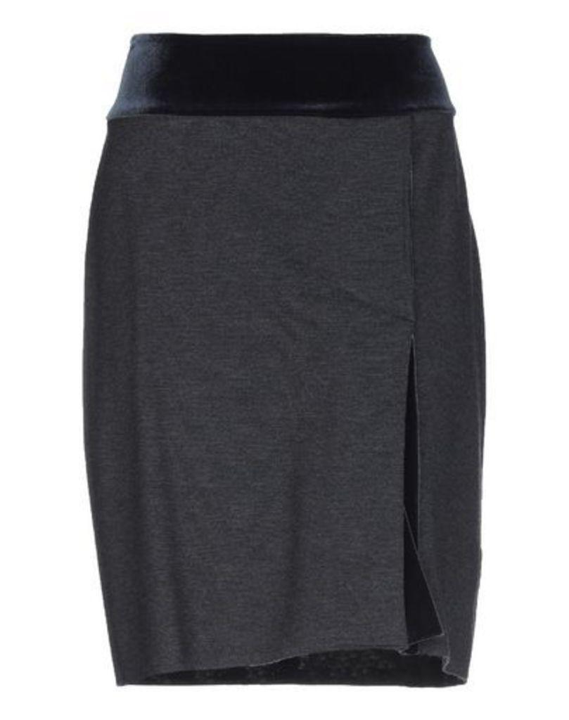 WOOD SKIRTS Knee length skirts Women on YOOX.COM