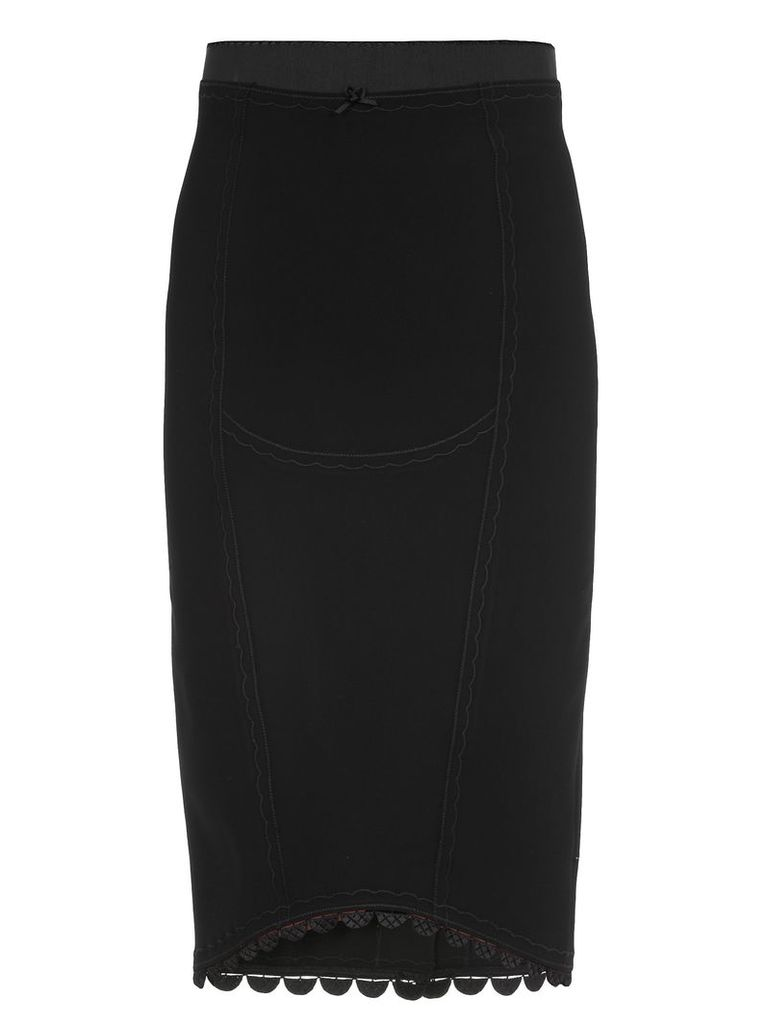 Marco de Vincenzo Skirt With Embroideries