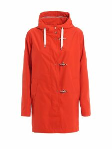 Fay Orange Tech Fabric Parka