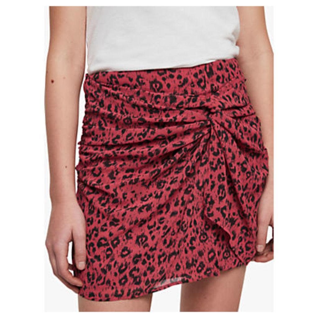 AllSaints Rylie Roar Skirt, Pink