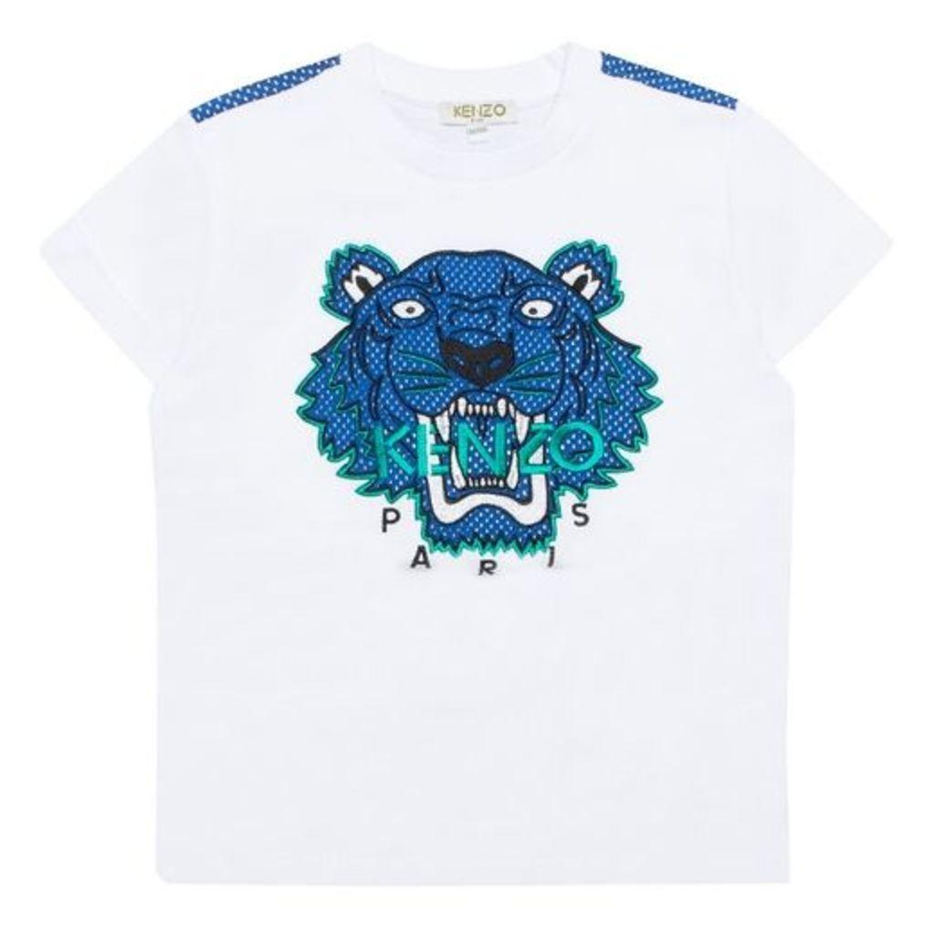 Kenzo Mesh Tiger T-shirt