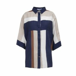 A-line Clothing - Multicolour Wide Shirt