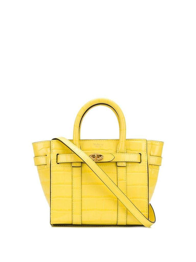 Mulberry mini tote bag - Yellow