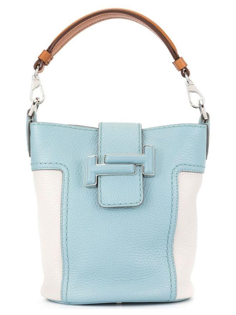 Tod's Double T bucket bag - Blue